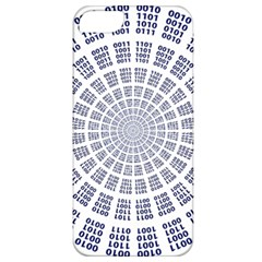Illustration Binary Null One Figure Abstract Apple Iphone 5 Classic Hardshell Case by BangZart