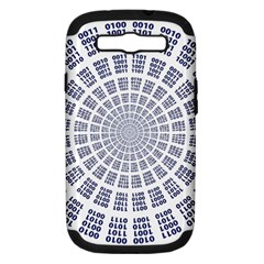 Illustration Binary Null One Figure Abstract Samsung Galaxy S Iii Hardshell Case (pc+silicone)