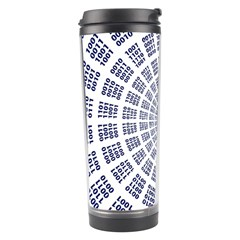 Illustration Binary Null One Figure Abstract Travel Tumbler by BangZart