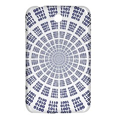 Illustration Binary Null One Figure Abstract Samsung Galaxy Tab 3 (7 ) P3200 Hardshell Case  by BangZart
