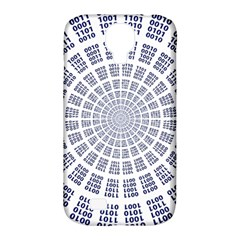 Illustration Binary Null One Figure Abstract Samsung Galaxy S4 Classic Hardshell Case (pc+silicone)