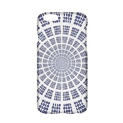 Illustration Binary Null One Figure Abstract Apple Iphone 6/6s Hardshell Case by BangZart