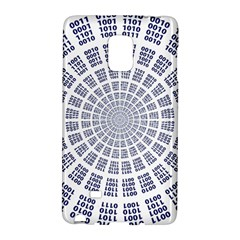 Illustration Binary Null One Figure Abstract Galaxy Note Edge
