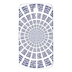 Illustration Binary Null One Figure Abstract Samsung Galaxy Mega I9200 Hardshell Back Case