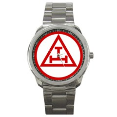 Rac Logo Sport Metal Watch by mdnp