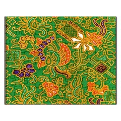 Art Batik The Traditional Fabric Rectangular Jigsaw Puzzl