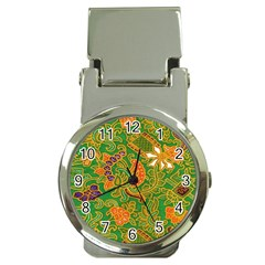 Art Batik The Traditional Fabric Money Clip Watches by BangZart