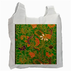 Art Batik The Traditional Fabric Recycle Bag (two Side)