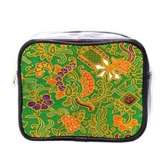 Art Batik The Traditional Fabric Mini Toiletries Bags by BangZart