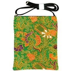 Art Batik The Traditional Fabric Shoulder Sling Bags by BangZart