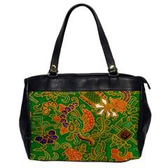 Art Batik The Traditional Fabric Office Handbags by BangZart