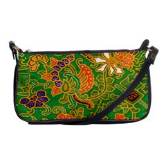 Art Batik The Traditional Fabric Shoulder Clutch Bags by BangZart