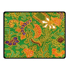 Art Batik The Traditional Fabric Fleece Blanket (small) by BangZart