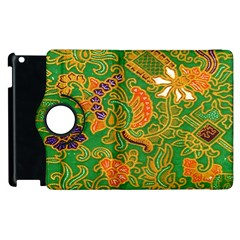 Art Batik The Traditional Fabric Apple Ipad 2 Flip 360 Case by BangZart