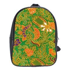 Art Batik The Traditional Fabric School Bags (xl)  by BangZart