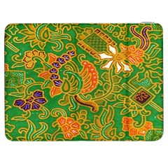 Art Batik The Traditional Fabric Samsung Galaxy Tab 7  P1000 Flip Case
