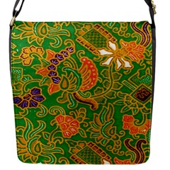 Art Batik The Traditional Fabric Flap Messenger Bag (s)