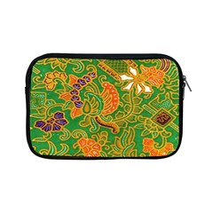 Art Batik The Traditional Fabric Apple Ipad Mini Zipper Cases by BangZart