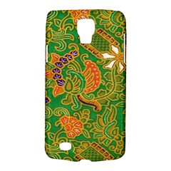 Art Batik The Traditional Fabric Galaxy S4 Active