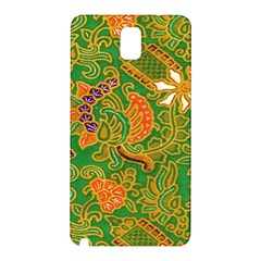 Art Batik The Traditional Fabric Samsung Galaxy Note 3 N9005 Hardshell Back Case