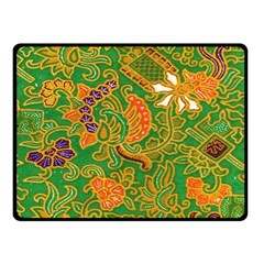 Art Batik The Traditional Fabric Double Sided Fleece Blanket (small)  by BangZart