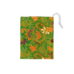 Art Batik The Traditional Fabric Drawstring Pouches (small)