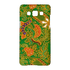 Art Batik The Traditional Fabric Samsung Galaxy A5 Hardshell Case  by BangZart
