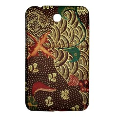 Art Traditional Flower  Batik Pattern Samsung Galaxy Tab 3 (7 ) P3200 Hardshell Case  by BangZart
