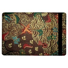 Art Traditional Flower  Batik Pattern Ipad Air Flip by BangZart