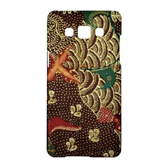 Art Traditional Flower  Batik Pattern Samsung Galaxy A5 Hardshell Case  by BangZart