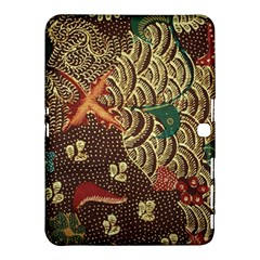 Art Traditional Flower  Batik Pattern Samsung Galaxy Tab 4 (10 1 ) Hardshell Case