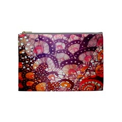 Colorful Art Traditional Batik Pattern Cosmetic Bag (medium)