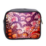 Colorful Art Traditional Batik Pattern Mini Toiletries Bag 2-Side Back
