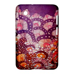 Colorful Art Traditional Batik Pattern Samsung Galaxy Tab 2 (7 ) P3100 Hardshell Case