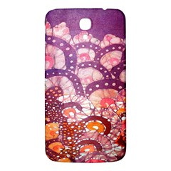 Colorful Art Traditional Batik Pattern Samsung Galaxy Mega I9200 Hardshell Back Case