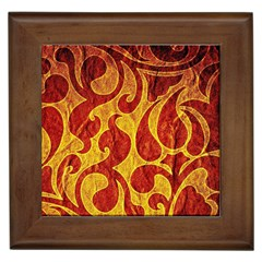 Abstract Pattern Framed Tiles