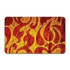Abstract Pattern Magnet (rectangular) by BangZart