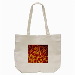 Abstract Pattern Tote Bag (cream) by BangZart