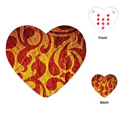 Abstract Pattern Playing Cards (heart)