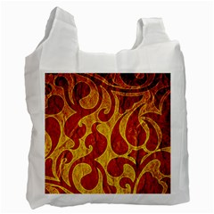 Abstract Pattern Recycle Bag (two Side)