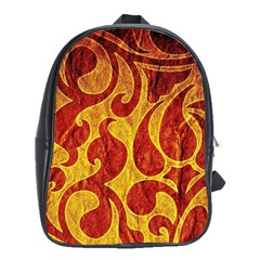 Abstract Pattern School Bags(large)