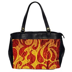 Abstract Pattern Office Handbags (2 Sides)