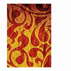 Abstract Pattern Small Garden Flag (two Sides)