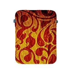 Abstract Pattern Apple Ipad 2/3/4 Protective Soft Cases by BangZart