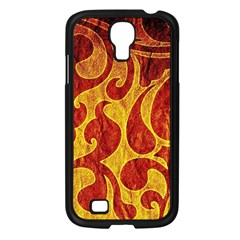 Abstract Pattern Samsung Galaxy S4 I9500/ I9505 Case (black) by BangZart
