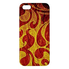 Abstract Pattern Iphone 5s/ Se Premium Hardshell Case by BangZart