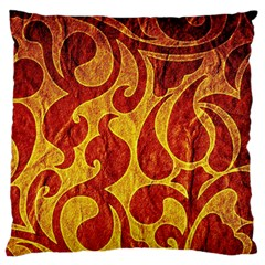 Abstract Pattern Standard Flano Cushion Case (one Side) by BangZart