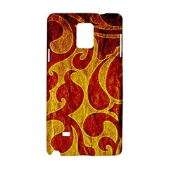Abstract Pattern Samsung Galaxy Note 4 Hardshell Case by BangZart