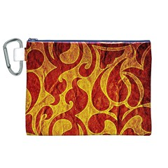 Abstract Pattern Canvas Cosmetic Bag (xl) by BangZart