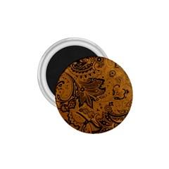 Art Traditional Batik Flower Pattern 1 75  Magnets by BangZart